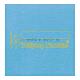 Warmbier 1402.665.L. Коврик 610х1220 мм голубой