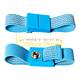 Warmbier 2050.750.7. Браслет эластичный голубой 7 мм